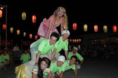 写真:組み体操・納涼祭は企画も自慢